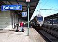 Bohumín, Leo Express, nástup pracovních čet.jpg