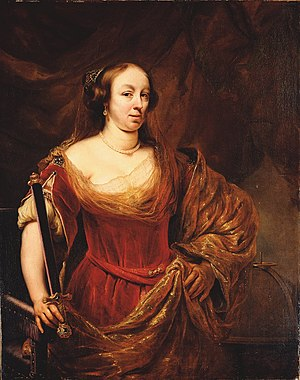 Jacques Goudstikker - Portrait of Louise Marie Gonzaga de Nevers, Queen of Poland by Ferdinand Bol, looted by the Nazis, was reclaimed by the Jewish Museum in 2006.