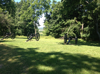 Bolivar Heights - Cannon from the Battle of Harpers Ferry on Bolivar Heights.