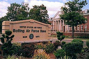 Bolling Air Force Base - Bolling Air Force Base main gate