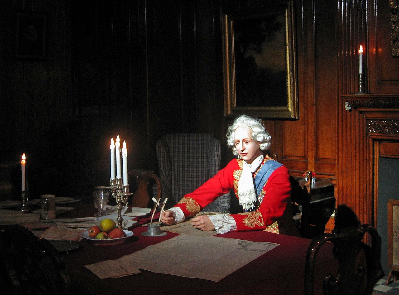 Portrait of bonnie prince charlie