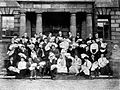 Book of the Rotunda Hospital; a group of students. Wellcome L0019388.jpg