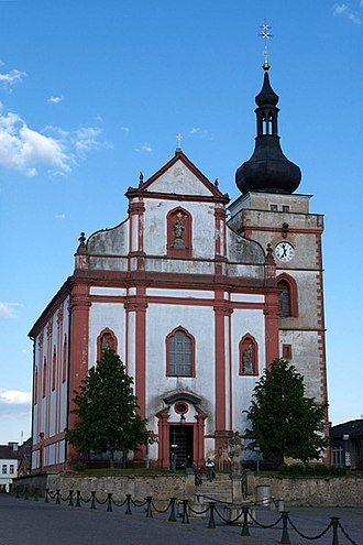 Bor (Tachov District) - St. Nicolas church