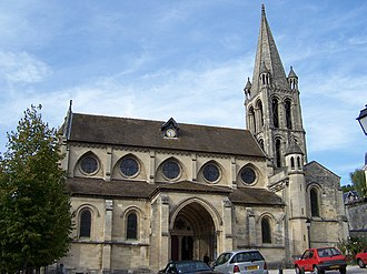 Bougival - 12th-century Notre-Dame Church