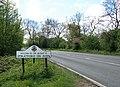 Boundary sign, near Stockton - geograph.org.uk - 1273906.jpg