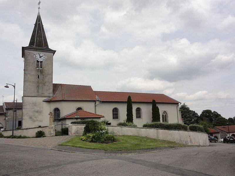 Brémoncourt (M-et-M) église churches in Meur