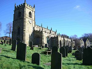 Church of St Nicholas, Bradfield - Image: Bradfield Church 3