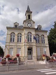The town hall of Brancourt-le-Grand