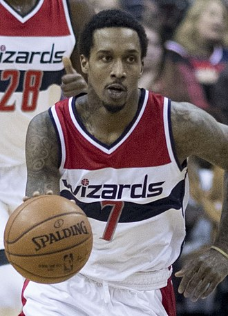 Brandon Jennings - Jennings with the Wizards in March 2017