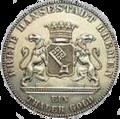 Bremen 1 taler gold 1863 vorn.png