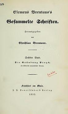 Die Gründung Prags (1852) (Source: Wikimedia)