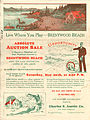 Brentwood Beach real estate advertisement, 1928 (25689911800).jpg