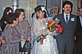 Bride and groom in Moscow, Russia, 1990.jpg