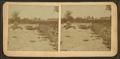 Bridge and river, Sheldon Junction, Vt, by S. Elkins.png