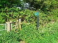 Bridleway entrance, Collins Lane, Purton - geograph.org.uk - 797599.jpg