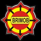 Abzeichen von Brimob