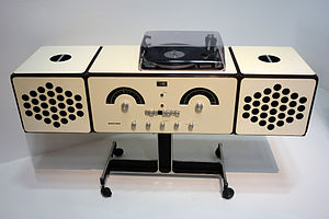 Music centre - RR 126, (Italy, 1966)