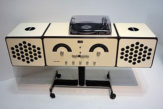 Achille Castiglioni - The RR126 stereo system