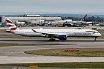 British Airways, G-XWBB, Airbus A350-1041 (49597471652).jpg