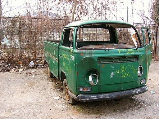 Broke-down Truck in Sarajevo 2009