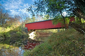 Brown County, Indiana - Covered bridge in Brown County, Indiana