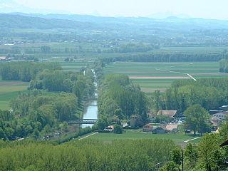 river in Switzerland