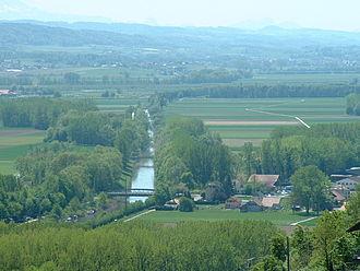 Broye - The Broye in Salavaux.