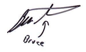 Bruce Schneier - Image: Bruce Schneier signature