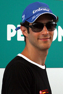 Photo de Bruno Senna en 2010