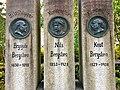 Brynjulv Bergslien Nils Bergslien Knut Bergslien Monument 1928 Bergsliplassen Voss Norway 2016-10-25 close 03.jpg