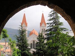 Bsharri - One of Bsharri's churches