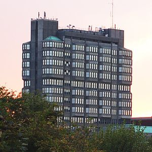 Buckinghamshire County Council - Image: Buckinghamshire County Hall, Aylesbury