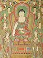 Buddha Seokgamoni (Shakyamuni) Preaching to the Assembly on Vulture Peak LACMA AC1998.268.1 (8 of 11).jpg