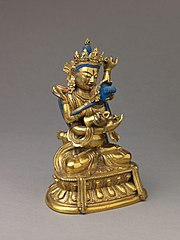 Buddhist deity Vajradhara in union with his consort Prajnaparamita