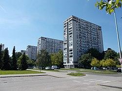 Buildings in Siget, Novi Zagreb 01.jpg