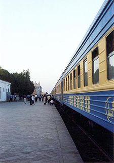 Rail transport in Uzbekistan Overview of rail transport in Uzbekistan