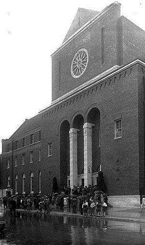 Wilmersdorf - Synagogue of Wilmersdorf, 1930