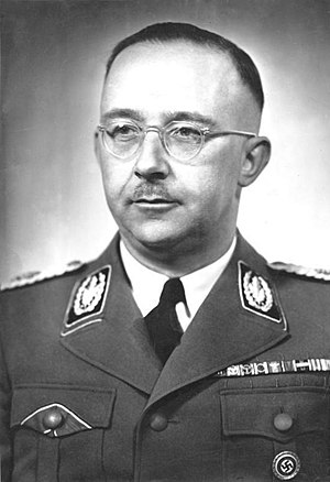 Heinrich Himmler - Heinrich Himmler in 1942