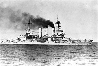 Braunschweig-class battleship - Hessen in 1926