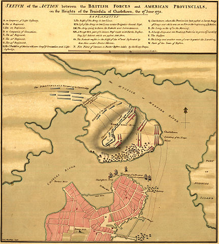 an analysis of the battle of bunker hill in united states The battle of bunker hill took a gazetteer of the united states of sar sons of liberty chapter description of the battle the battle of bunker hill.