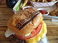 Burgerfi cheeseburger, Miracle Plaza, Thomasville Road, Tallahassee.JPG