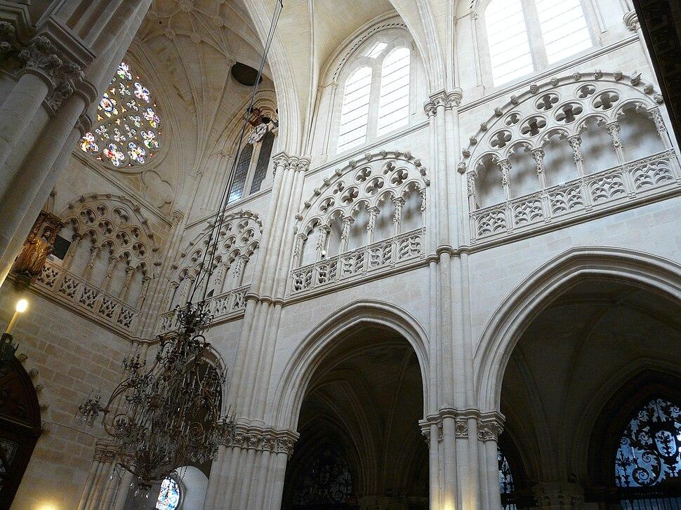 Burgos Catedral Triforio
