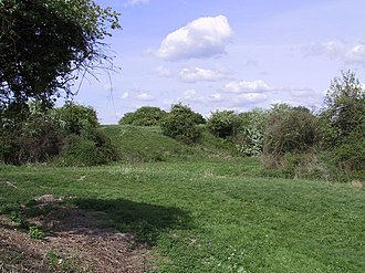Burwell Castle - Image: Burwell Castle Site geograph.org.uk 642593