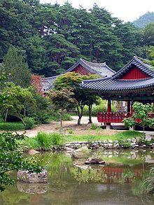 buryeongsa a korean garden - Korean Garden