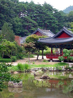 Korean garden - Buryeongsa