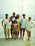 Bush family at beach in Summer 1968 (2819).jpg