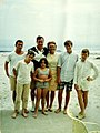 Bush family at beach in Summer 1968 (2819).jpg