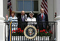 Bush welcomes Queen Elizabeth II to White House.jpg
