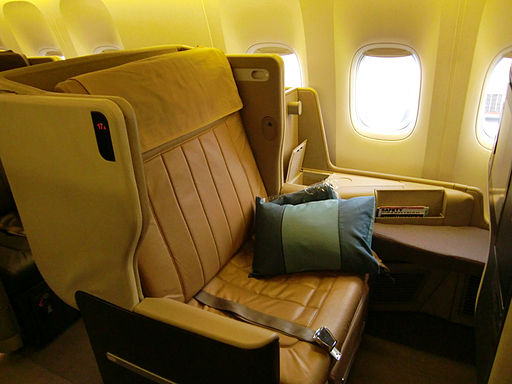 Businesclass-seat 01