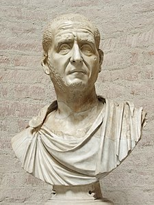 Bust of Decius (loan from Capitoline Museums) - Glyptothek - Munich - Germany 2017.jpg